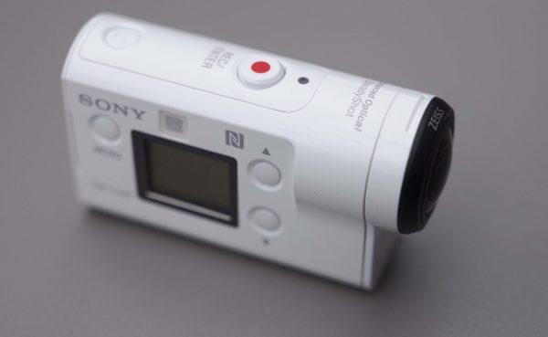 The Sony FDR-X3000R