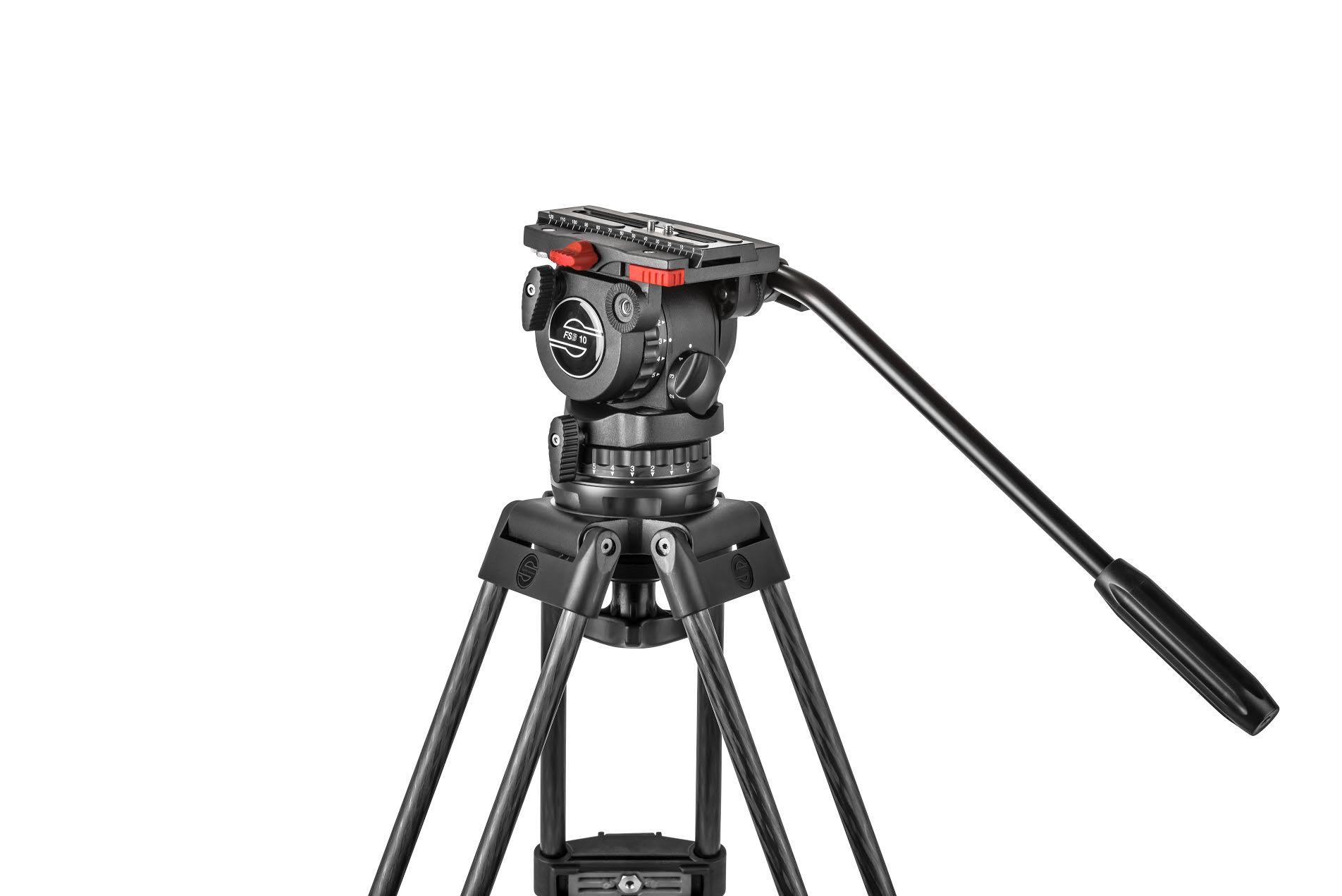 Sachtler announces more affordable FSB 10 100mm fluid head tripod