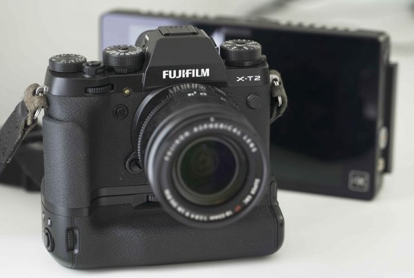 The Fujifilm X-T2 can output Log to the Atomos Shogun 4K recorder