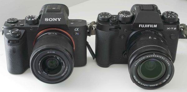 Side-by-side with the Sony a7S II