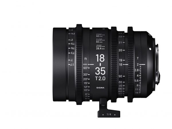 The 18-35mm T2 Super35 cine zoom
