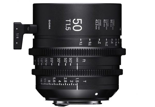 The 50mm T1.5 full frame cine prime