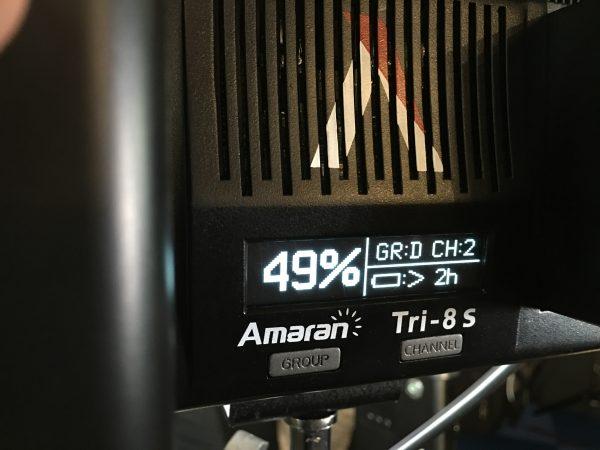 Aputure Amaran Tri-8s Close Up