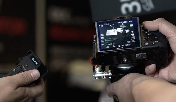 Aputure DEC Vari ND with Controller and Camera