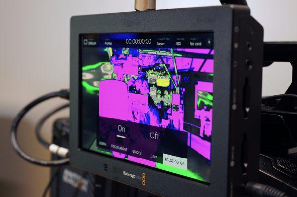Blackmagic Video Assist 4K False Color