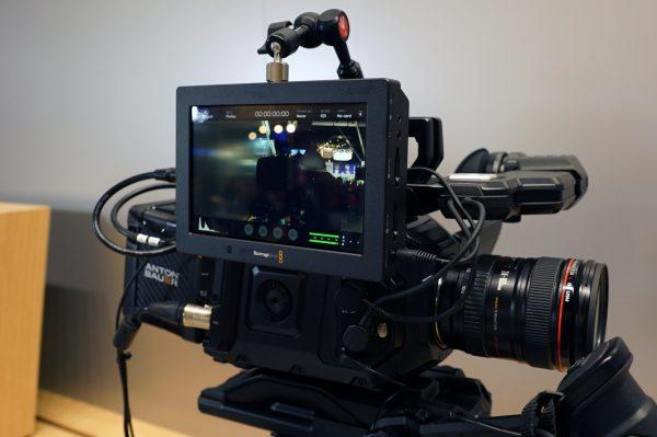 Blackmagic Video Assist 4K on Ursa Mini