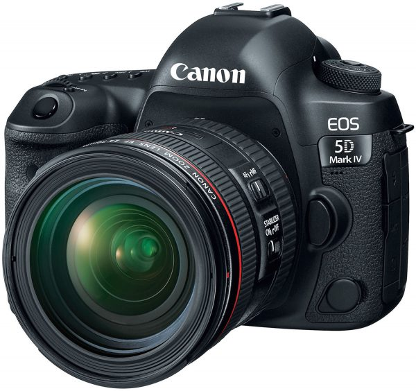 Canon 5D Mark IV with 24-70 f4L