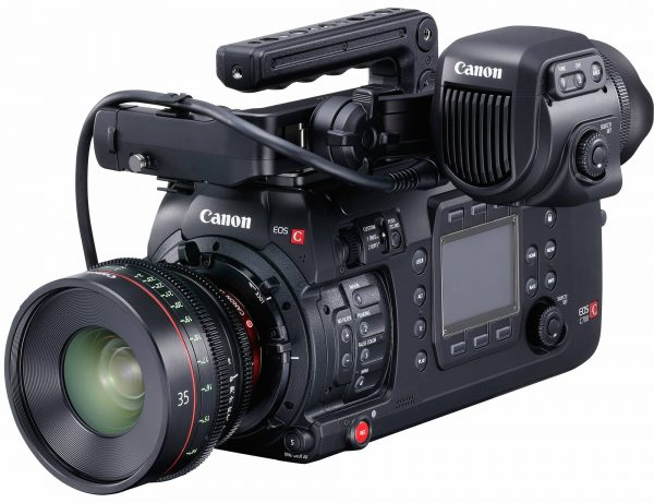 Canon C700 with Lens Top Handle Full
