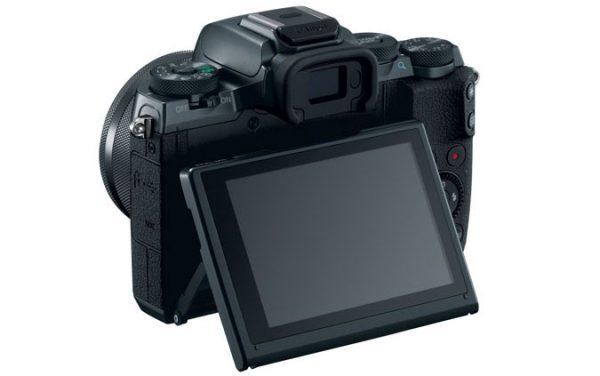 Canon EOS M5 Back