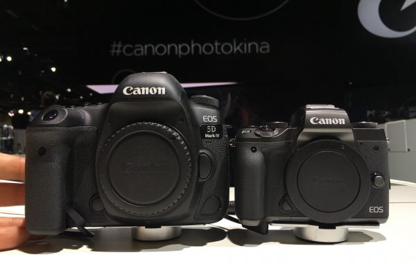 Canon EOS M5 and Canon 5D Mark IV Photokina