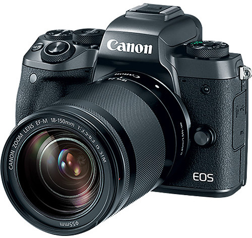 Canon EOS M5 with 18-150mm
