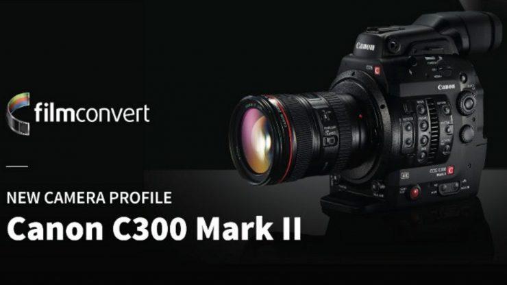 FilmConvert Canon C300 Mark II Profile