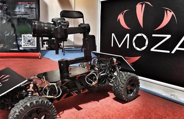 Gudsen MOZA Tank Camera Car
