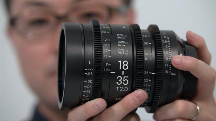 IBC 2016 Sigmas Shinji Yamaki demonstrates new cine lens range