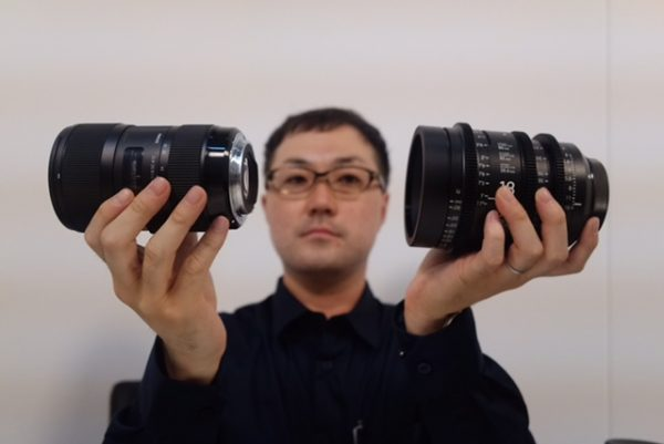 The cine versions of the lens have the exact same optical formula as their stills counterparts