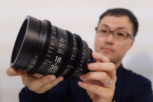PL versions of the 18-35mm T2.0 will allow for the maximum degree of adjustment.