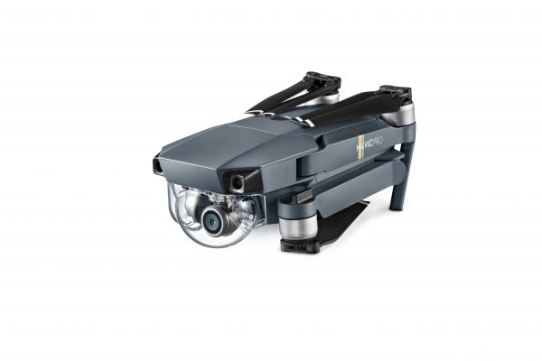 Mavic Pro (Folded View, View from Right)