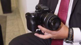 Newsshooter at Photokina 2016 Fujifilm GFX 50S medium format camera with video