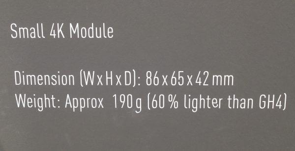 Panasonic Drone Camera Size-Weight Photokina 2016