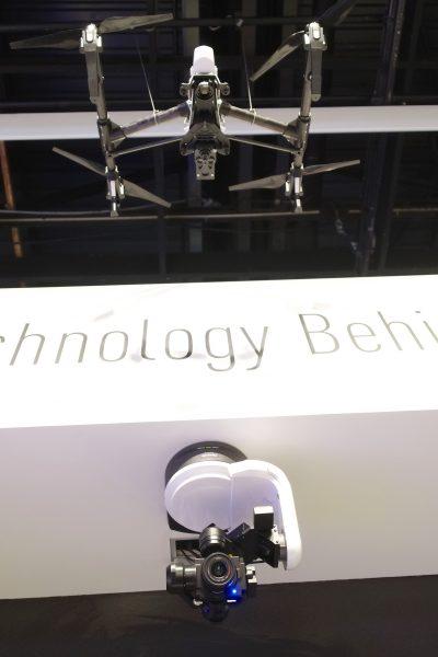 Panasonic Drone Camera and DJI Inspire Photokina 2016