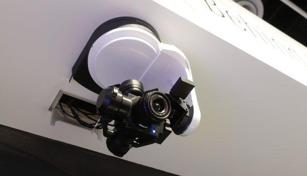 Panasonic Drone Camera on Custom Gimbal - Photokina 2016