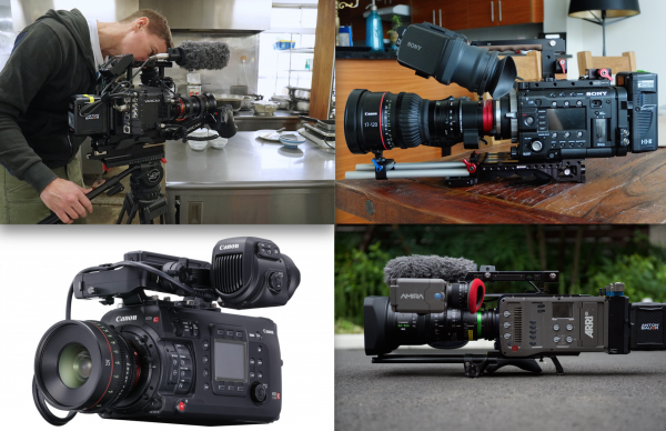 The C700 takes a lot of its design principles from its closest competitors.