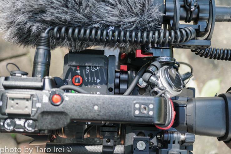 Canon C100 modification