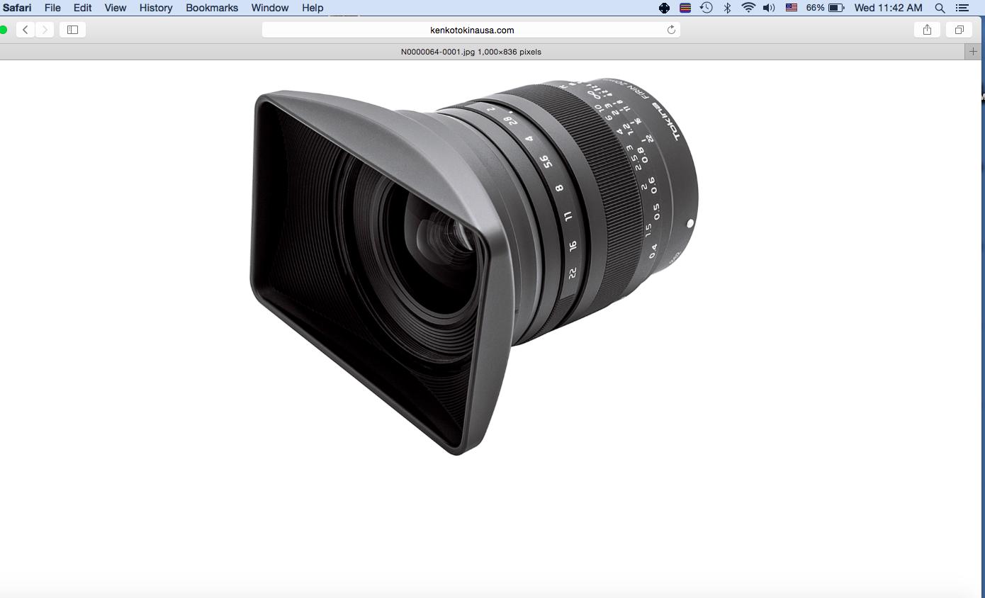 Tokina release the full frame Firin 20mm F2 Sony E Mount lens ...