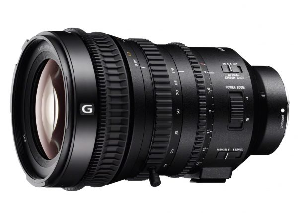 The Sony 18-110mm f4 G power zoom lens