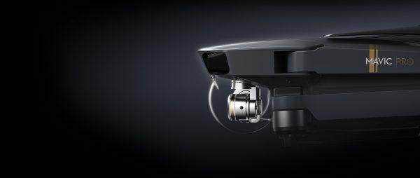 Two-Thirds of Mavic Pro Drone Body