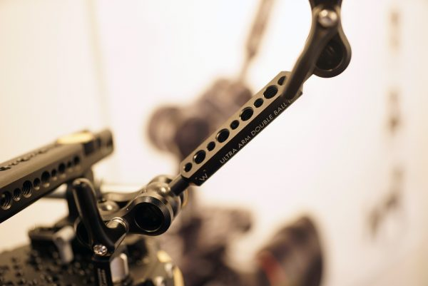 Wooden Camera Ultra Arm on Rig