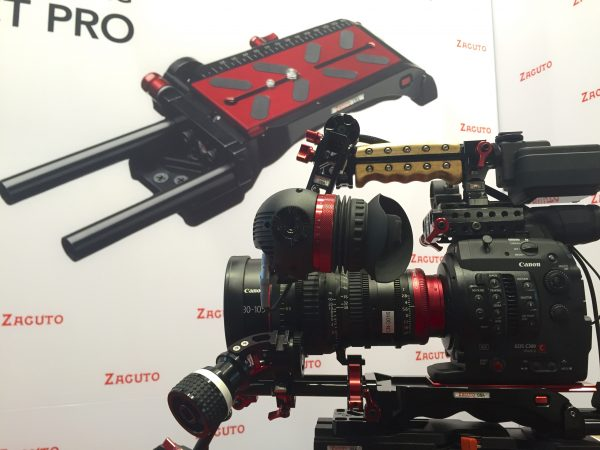 Zacuto VCT Pro Baseplate with Canon Camera