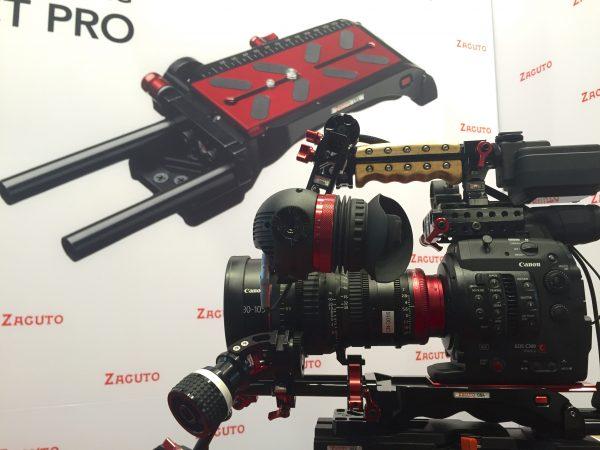 Zacuto VCT Pro Baseplate with Canon Camera