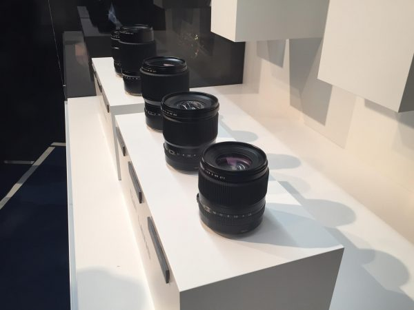 A range of lenses are available for the GFX