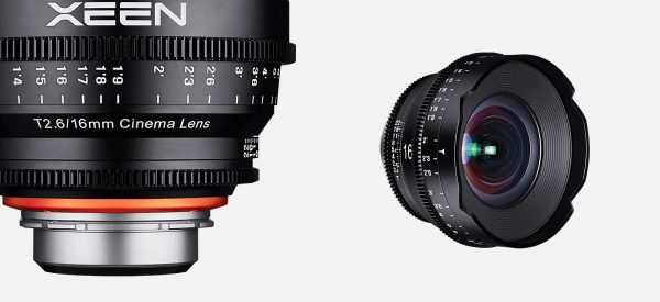 Samyang announce the XEEN 16mm T2.6