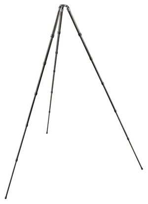 The Gitzo GT5562 GTS carbon fibre tripod extends to a max height of 277cm