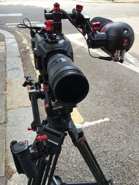 The Blackmagic Design URSA Mini 4.6K on the Video 18 S2