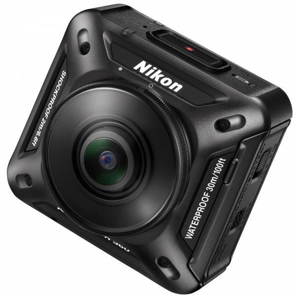 The Nikon KeyMission 360 camera