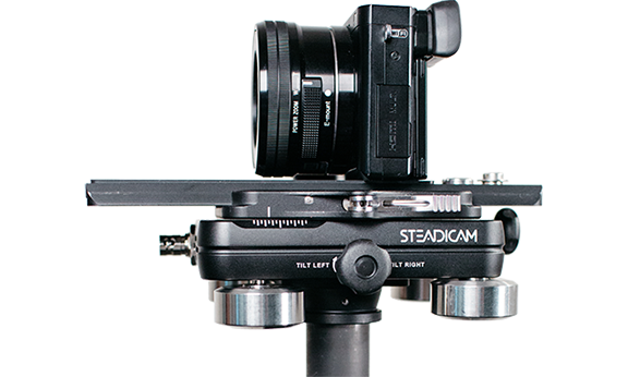 The Aero opens up 'proper' Steadicam stabilisation to much smaller cameras and budgets than was possible previously.