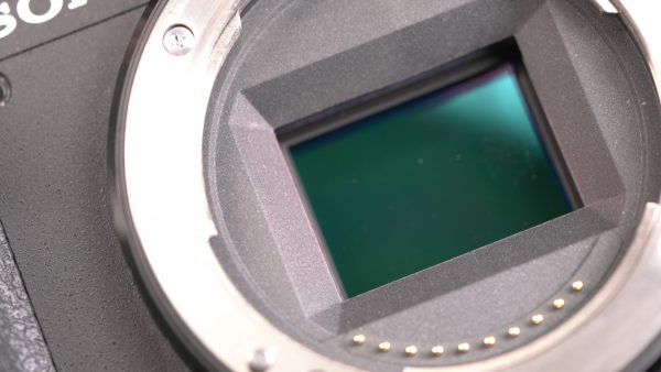 The sensor has image stabilisation