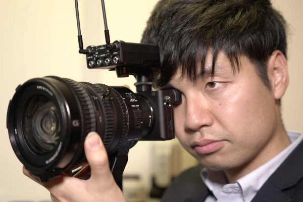 Sony's Yoma Hori with the A6500 and new 18-110mm servo zoom lens