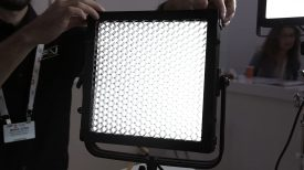 FV Lights quick release grids barn doors and diffuser frames for their LED panels