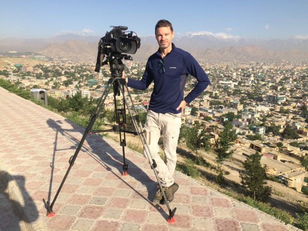 Using the RodeLink Filmmakers Kit on a shoot in Afghanistan