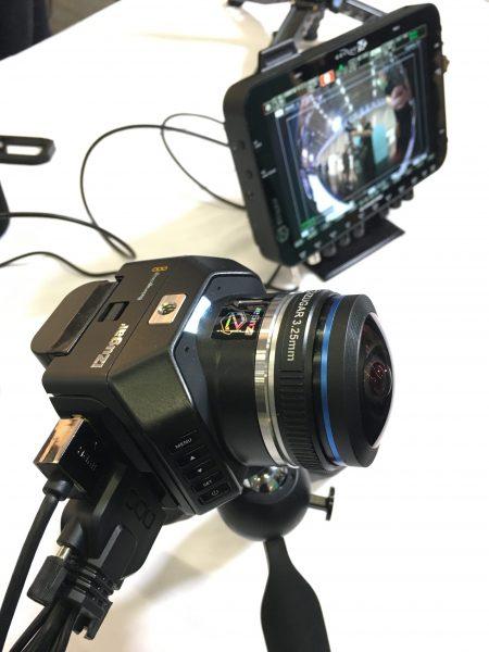 The iZugar fisheye is a good partner for the Blackmagic Design Micro Cinema Camera