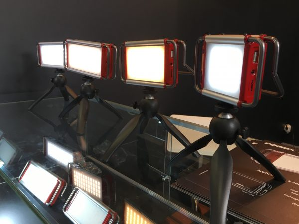 The Fomex lights come in four different sizes