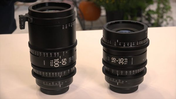 Sigma's own 50-100mm and 18-35mm cine lenses