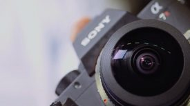 Newsshooter at Photokina 2016 iZugar fisheye lens fits M43 and Sony E mount