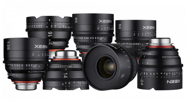 The complete XEEN lens lineup
