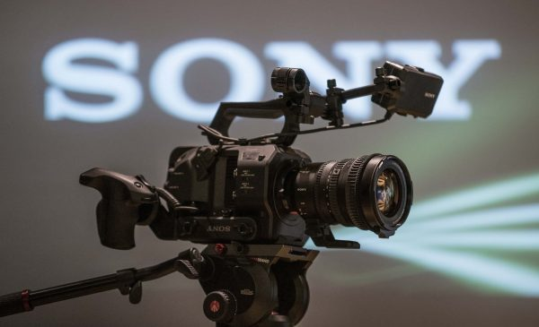 The Sony FS7 II at the European Press briefing