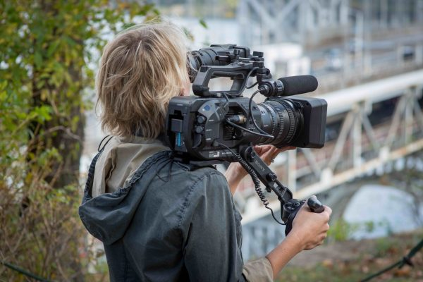 The Sony FS7 II. Photo credit: Chuck and Sarah Fishbein